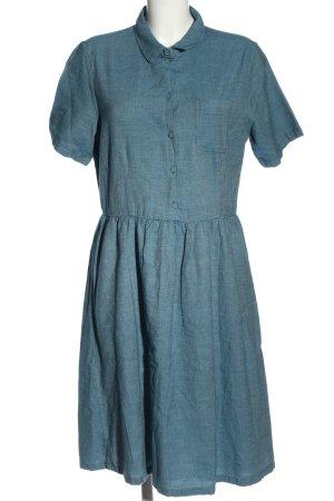 Selected Femme Kurzarmkleid blau Casual-Look