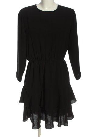 Selected Femme Langarmkleid schwarz Elegant