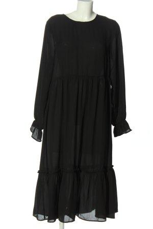 Selected Femme Langarmkleid schwarz Casual-Look