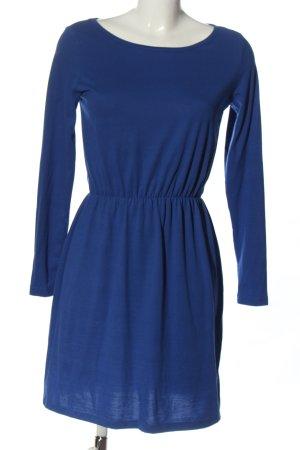 Selected Femme Langarmkleid blau Casual-Look
