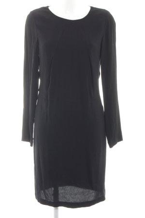 Selected Femme Langarmkleid schwarz klassischer Stil