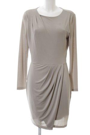Selected Femme Langarmkleid braun Business-Look