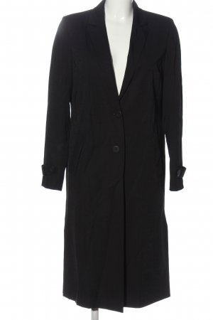 Selected Femme Heavy Pea Coat black business style