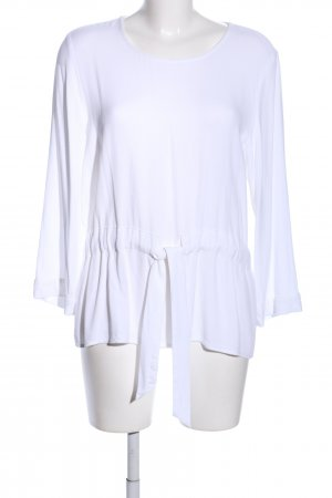 Selected Femme Long-Bluse weiß Casual-Look