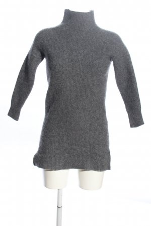 Selected Femme Longpullover hellgrau meliert Casual-Look