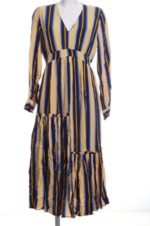 Selected Femme Vestido largo estampado a rayas look casual