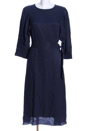 Selected Femme Midikleid blau Business-Look