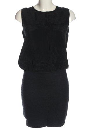 Selected Femme Minikleid blau-schwarz Casual-Look