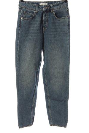 Selected Femme Mom-Jeans blau Casual-Look