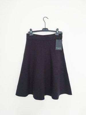 Selected Femme Skaterska spódnica czarny