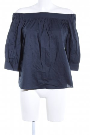 Selected Femme Oversized Bluse blau Business-Look