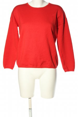 Selected Femme Oversized Pullover rot Casual-Look