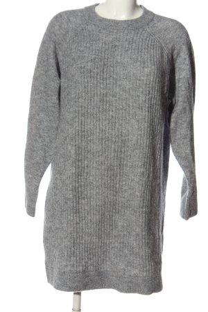 Selected Femme Swetrowa sukienka jasnoszary Melanżowy W stylu casual