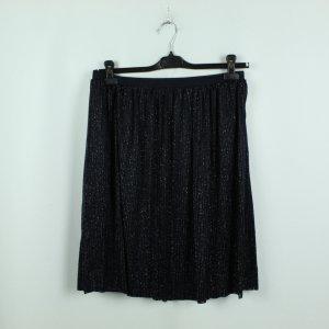 Selected Femme Skaterrok donkerblauw-zilver Polyester