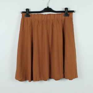 Selected Femme Flounce Skirt russet mixture fibre