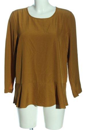 Selected Femme Schlupf-Bluse blassgelb Business-Look