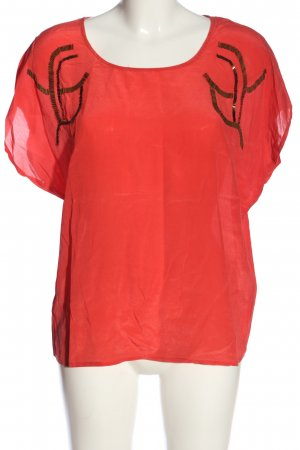 Selected Femme Schlupf-Bluse rot Casual-Look