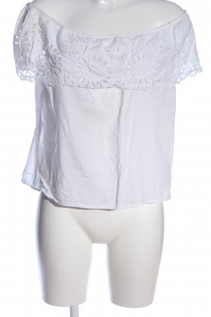 Selected Femme Schlupf-Bluse weiß Casual-Look