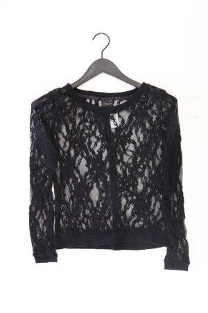 Selected Femme Shirt mit Spitze Größe 36 Langarm schwarz