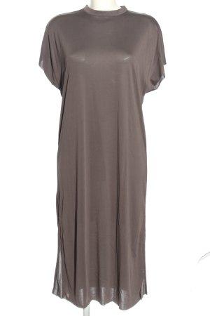 Selected Femme Shirtkleid hellgrau Casual-Look