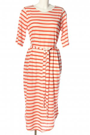 Selected Femme Shirt Dress light orange-white striped pattern casual look
