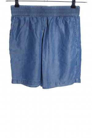 Selected Femme Shorts blau Casual-Look