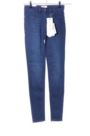 Selected Femme Skinny Jeans blau Casual-Look