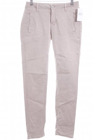 Selected Femme Slim Jeans altrosa Street-Fashion-Look