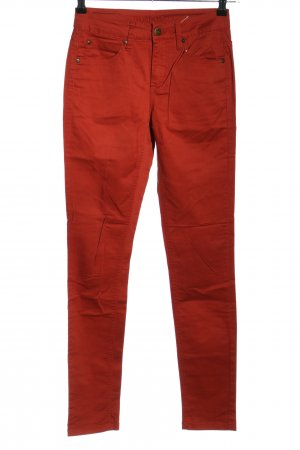 Selected Femme Slim Jeans rot Casual-Look