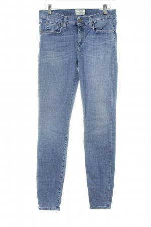 Selected Femme Slim Jeans stahlblau Casual-Look