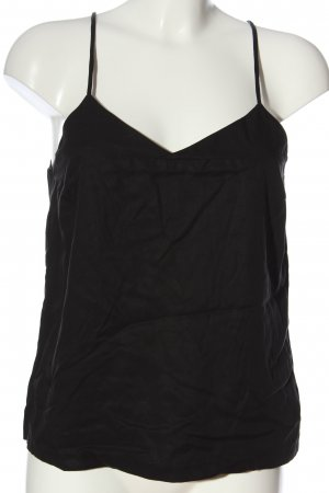 Selected Femme Top con bretelline nero stile casual