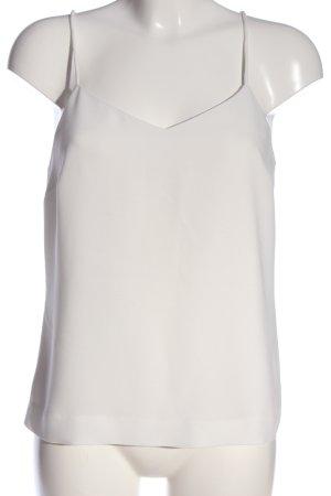Selected Femme Haut à fines bretelles blanc style décontracté