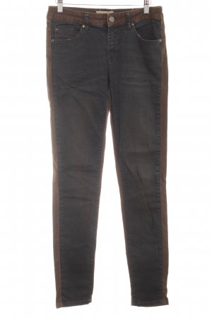 Selected Femme Straight-Leg Jeans taupe-graubraun Casual-Look