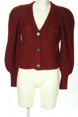Selected Femme Strickjacke rot Casual-Look