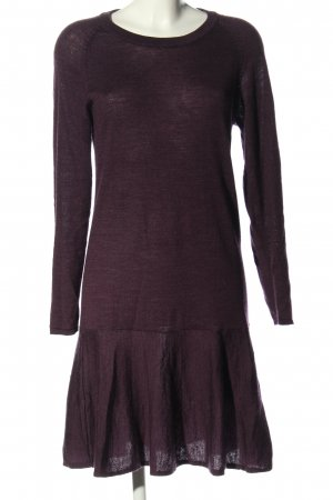 Selected Femme Strickkleid lila Casual-Look