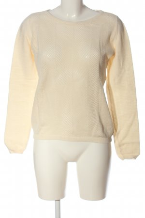 Selected Femme Strickpullover creme Casual-Look