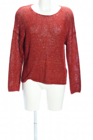 Selected Femme Strickpullover rot Casual-Look