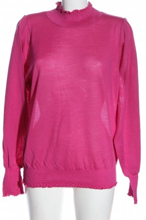 Selected Femme Strickpullover pink Casual-Look