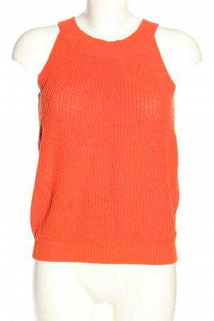 Selected Femme Stricktop rot Casual-Look
