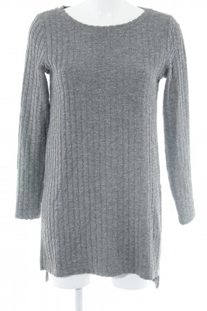 Selected Femme Sweatshirt grau meliert Casual-Look