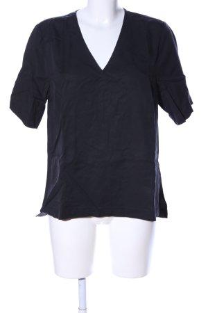 Selected Femme T-Shirt schwarz Business-Look