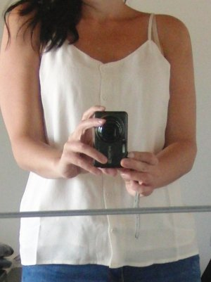 Selected Femme - Top - white swan