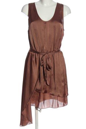 Selected Femme Trägerkleid braun Elegant