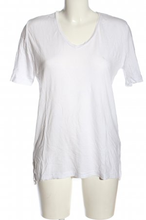 Selected Femme V-Ausschnitt-Shirt weiß Casual-Look
