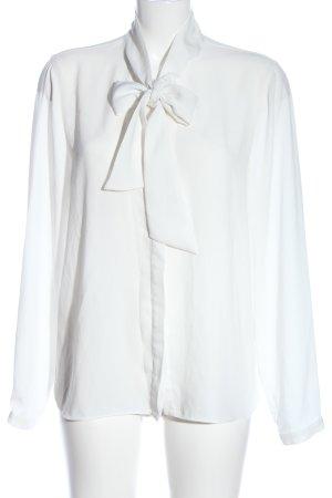 Selected Hemd-Bluse weiß Elegant