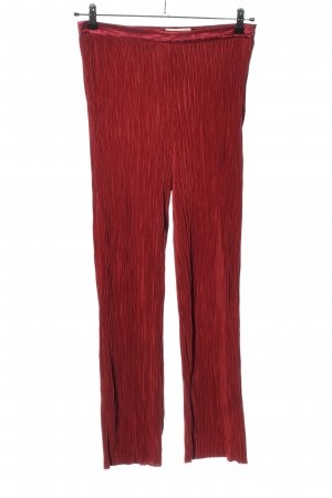 Selected High-Waist Hose rot Casual-Look