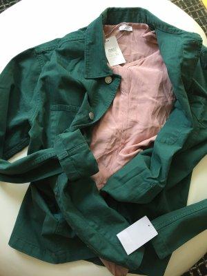 Selected Homme Camicia monospalla verde bosco