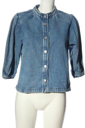 Selected Jeansjacke blau Casual-Look