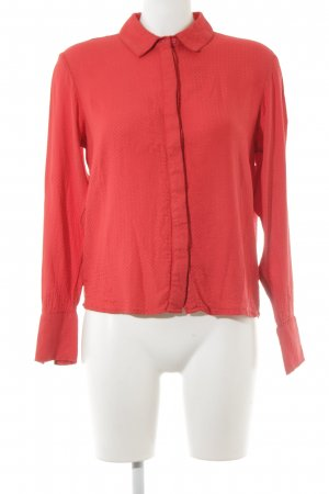 Selected Langarm-Bluse rot Casual-Look