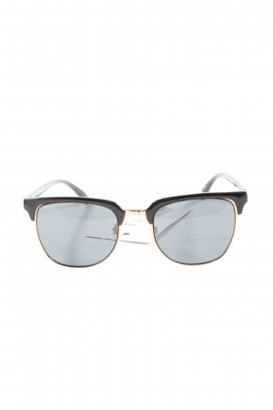Selected Oval Sunglasses black casual look